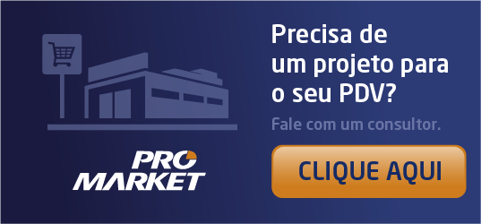 Cotação de expositores para supermercados
